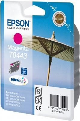 Wkład purpurowy (hi-capacity) do Epson Stylus C64,C84,C66,C86 T0443