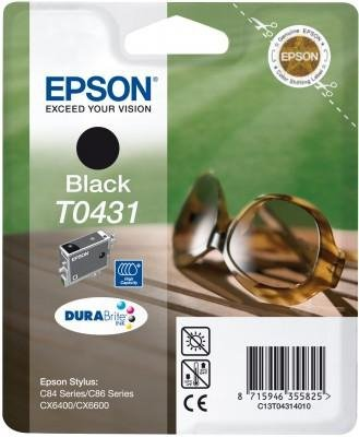 Wkład czarny hi-capacity do Epson Stylus C84 T0431