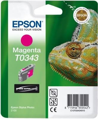 Atrament do Epson Stylus Photo 2100 - purpurowy T0343