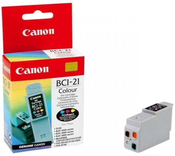 Wkład Canon Kolorowy BCI-21C