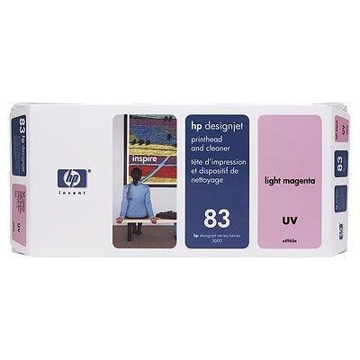 Głowica (Printhead) HP 83 light magenta + Gniazdo czyszczące (Printhead cleaner) light magenta system UV do DnJ 5000/5000ps/5500