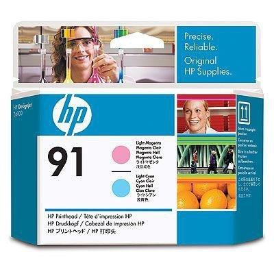 Głowica (Printhead) HP 91 light magenta and light cyan do Z6100 - c9462a