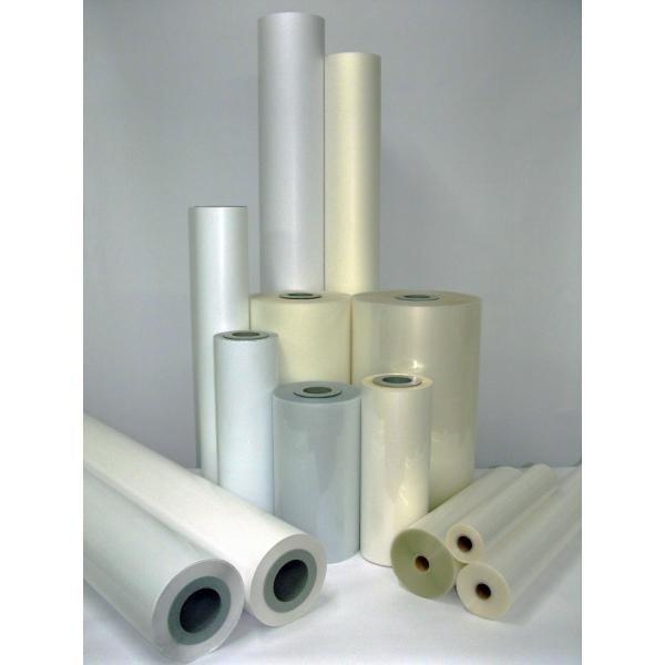 Laminat folia PVC polimeryczna błyszcząca 1520x50m 75mic do laminacji na zimno i ciepło