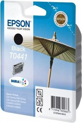 Wkład czarny do drukarki Epson Stylus C64, C84,C86,C66 T0441