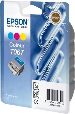 Wkład kolorowy do Epson Stylus C48 wyd.220 strony, poj.25 ml T067