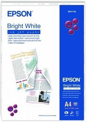 Papier Epson Bright white inkjet paper 90g/m2 (500 ark.) S041749