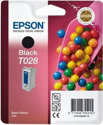 Wkład czarny do Epson Stylus C60 T028