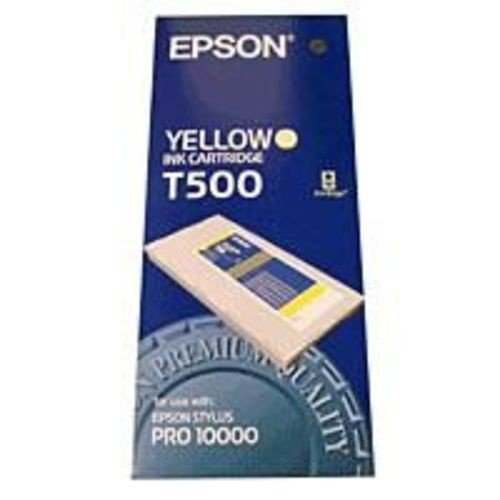 Atrament żółty 500ml do Epson Pro 10000 C13T500011