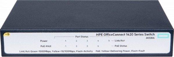 Hewlett Packard Enterprise 1420 5G PoE+ (32W) Switch JH328A
