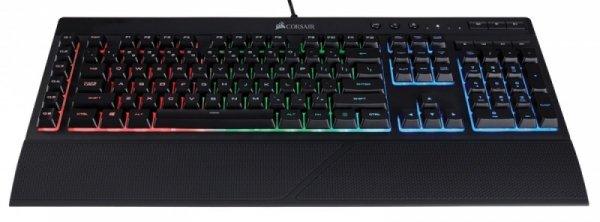 Corsair Gaming K55 RGB, Black, RGB LED