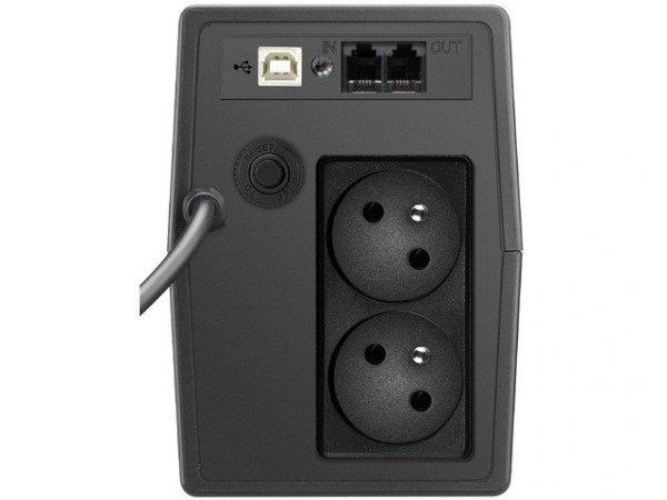 PowerWalker UPS LINE-INTERACTIVE 600VA 2x PL 230V, RJ11/45      IN/OUT, USB