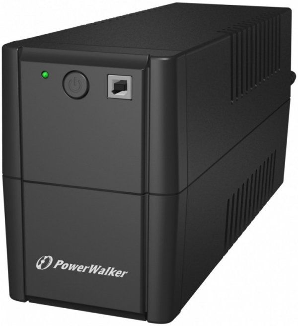 PowerWalker UPS LINE-INTERACTIVE 650VA 4x 230V IEC OUT,         RJ 11 IN/OUT, USB