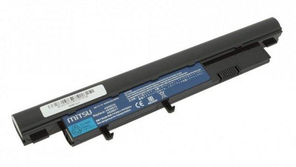 Mitsu Bateria do Acer Aspire 3810t, 4810t, 5810t 4400 mAh (49 Wh) 10.8 - 11.1 Volt