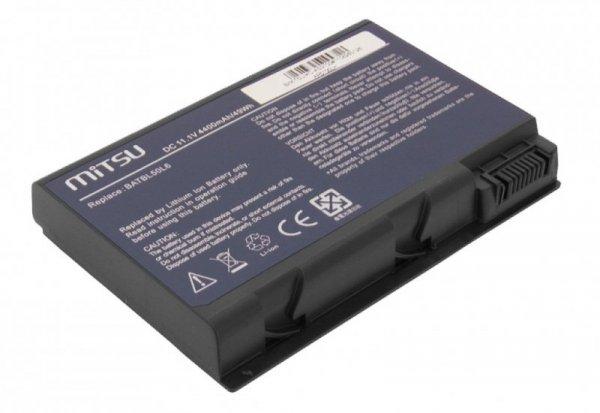Mitsu Bateria do Acer TM2490, Aspire 3100 4400 mAh (49 Wh) 10.8 - 11.1 Volt