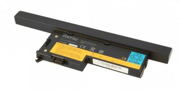Mitsu Bateria do IBM X60, X60s 4400 mAh (63 Wh) 14.4 - 14.8 Volt