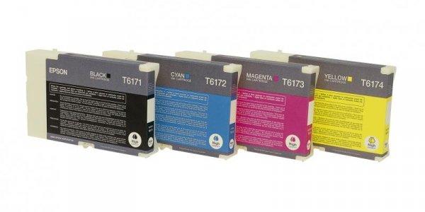 Wkład atramentowy tusz Epson do B500DN Cyan T6172 DURABrite Ultra Ink (high capacity) C13T617200