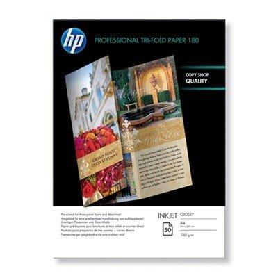 Papier HP Professional Tri-fold Inkjet, błyszczący (50 ark./A4/210x297mm) - Q2525A