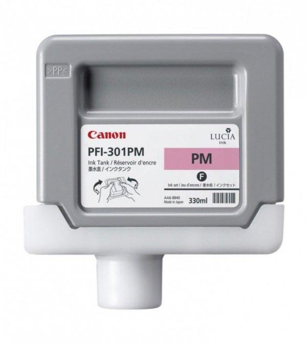 Tusz Canon PFI-301PM Photo Magenta 330ml do iPF8000S iPF8100 iPF9000S iPF9100 CF1491B001AA