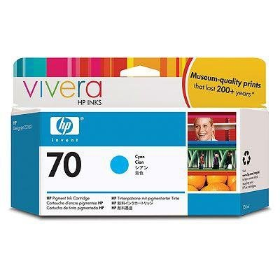 Tusz (Ink) HP 70 cyan (130ml) Vivera do Z2100/Z5200 C9452A