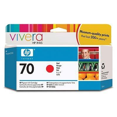 Tusz HP 70 red (130ml) Vivera C9456A
