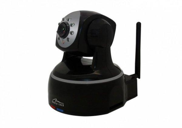 Media-Tech Indoor Securecam HD Obrotowa kamera sieciowa WiFi IP do monitoringu wideo MT4051