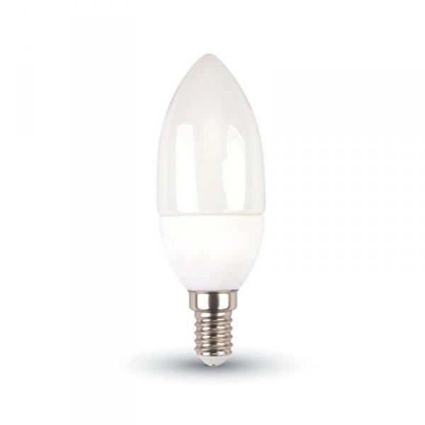 V-tac Żarówka LED VT-2033 E14 37X100MM 3W 2700K 250LM Termo plastik, świeczka