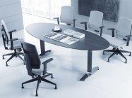 Raya 21S czarny P45PP fotel biurowy obrotowy krzesło obrotowe biurowe PROFIM Biurokoncept