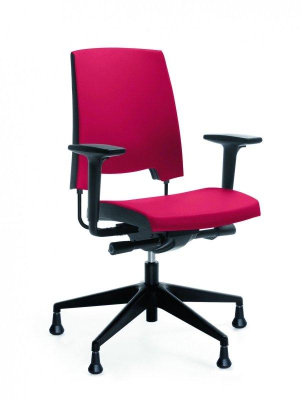 arca 21SL czarny P54 PU fotel obrotowy na stopkach fotel biurowy krzesło obrotowe krzesło biurowe PROFIM Biurokoncept