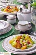 Villa Italia Valentino - Serwis obiadowy dla 12 osób (43 elementy)