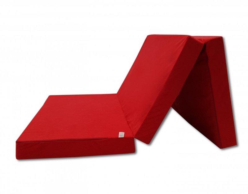 Materac turystyczny 200 x 80 x 10 Czerwony