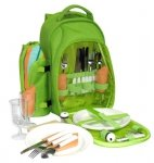 Plecak piknikowy dla 4 osób + wyposażenie NEGRA SPORT