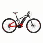 Rower elektryczny Haibike SDURO FullNine 6.0 29 antracytowo-czerwono-biały