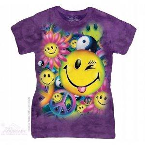 Koszulka dziecięca The Mountain Peace & Happines 15-3991