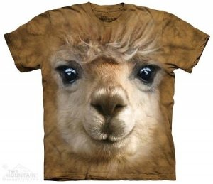 Koszulka dziecięcia The Mountain- Big Face Alpaca 15-3662