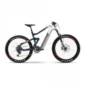 Rower elektryczny Haibike XDURO AllMtn 5.0 29/27'5 biało-niebiesko-pomarańczowy