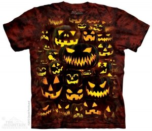 KOSZULKA T-SHIRT THE MOUNTAIN JACK O LANTERN WALL 10-3823