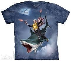 Koszulka The Mountain Dubaya Shark Aquatic 10-4242