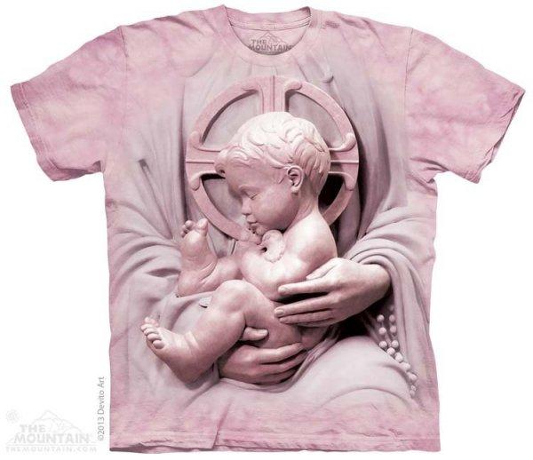 KOSZULKA T-SHIRT THE MOUNTAIN BABY JESUS 10-3762