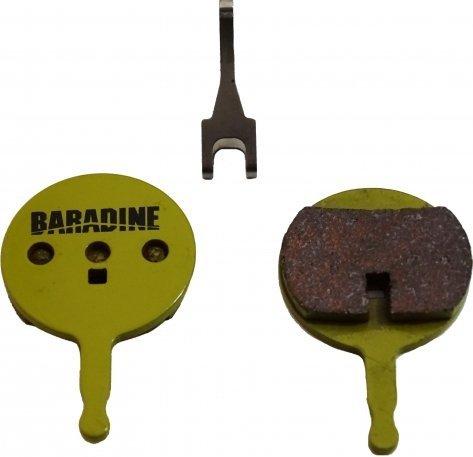 Klocki hamulcowe Baradine DS-44+SP-44 Avid Elixir