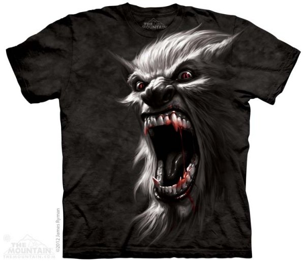 KOSZULKA T-SHIRT THE MOUNTAIN WAREWOLF BATTLE 10-3391