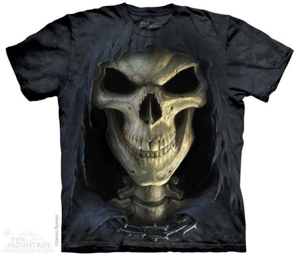 KOSZULKA T-SHIRT THE MOUNTAIN BIG FACE DEATH 10-3652
