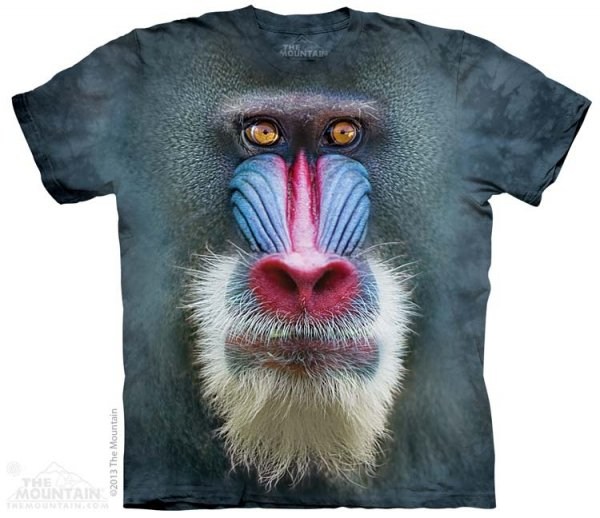 KOSZULKA T-SHIRT THE MOUNTAIN MADRILL BABOON 10-3689