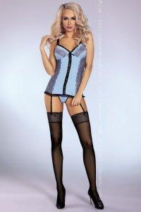 Gorset Leyla Sensual Collection + stringi GRATIS!
