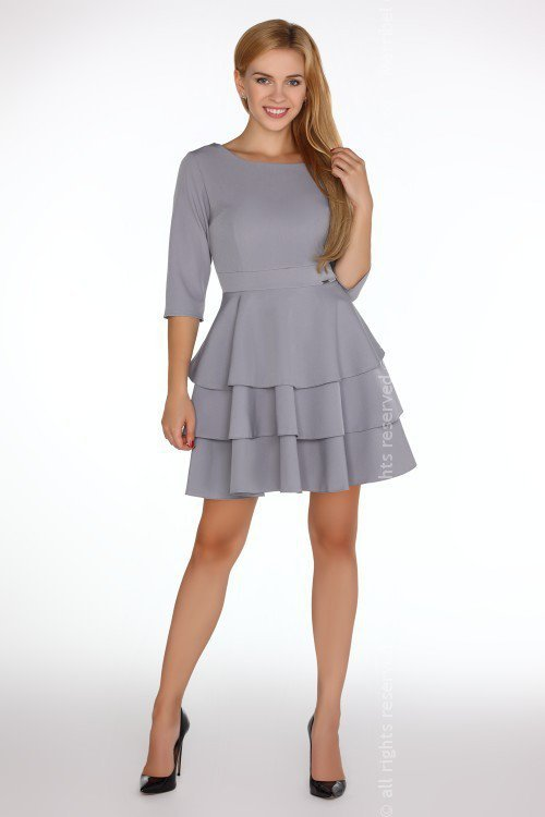 Sukienka Reethan Grey