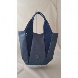 Stylowa niebiestka torebka CHIARA
