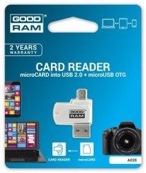 GOODRAM Czytnik micro SD + micro USB OTG tablet