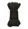 Kink Hogtied Bind & Tie 6mm Black Hemp Bondage Rope 30 Feet