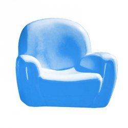 Chicco Wygodny błękitny fotel do dziecięcego pokoju