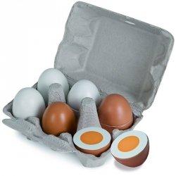 Eichhorn Drewniane jajka w foremce na magnes