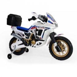 INJUSA Motor na akumulator Honda Africa Biały 6V